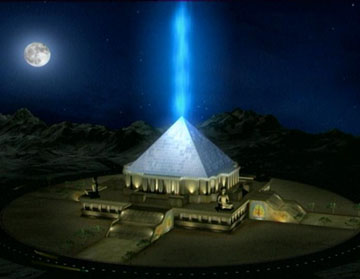 pyramid and cosmic energy